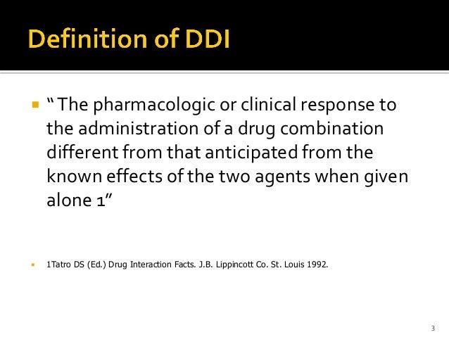 Pharmacokinetic Drug-Drug interactions Slide 3