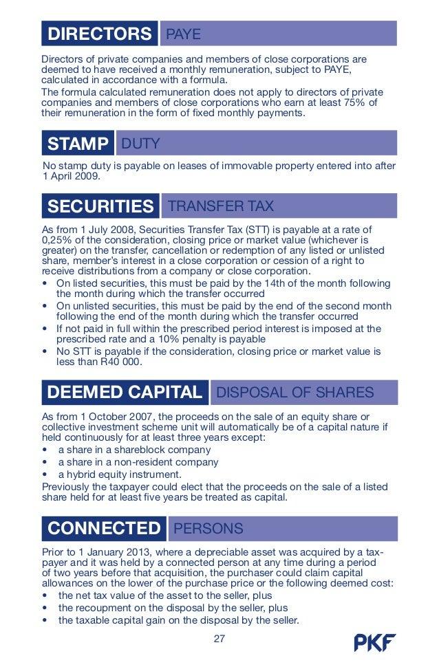 south african tax guide 2013 rh slideshare net Pkf Studios Machine-Gunned PKF Accounting Firm