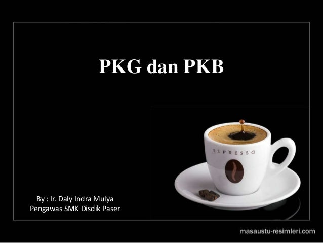 PKG dan PKB By : Ir. Daly Indra Mulya Pengawas SMK Disdik Paser