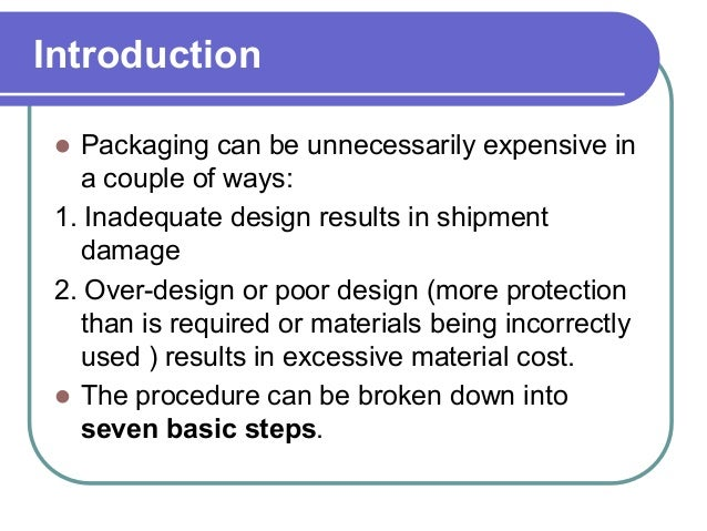 Fundamentals of Packaging Technology