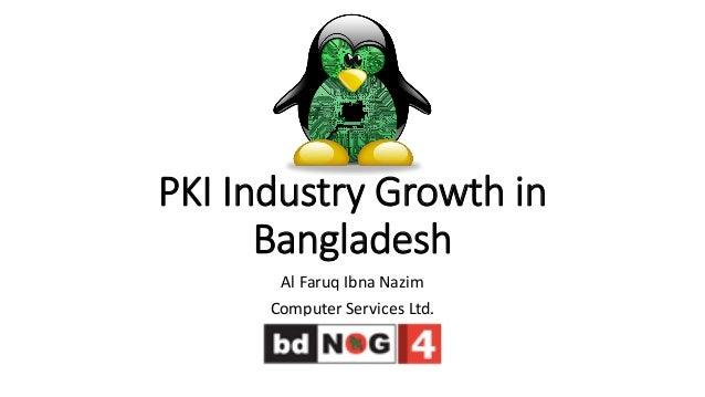 PKI Industry Growth in Bangladesh Al Faruq Ibna Nazim Computer Services Ltd.