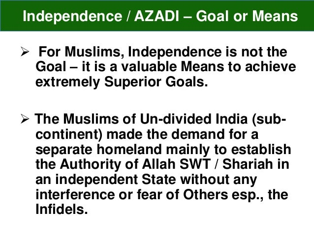 excellent speech on independence day