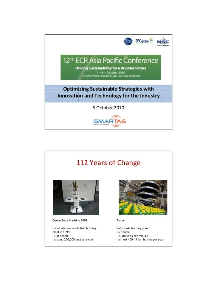 Optimizing Sustainable Strategies with     Innovation and Technology for the Industry                                  5 O...