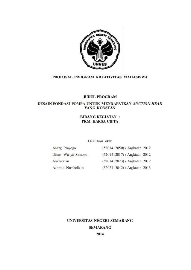 Pkm Kc Unnes Didanai Dikti 2015