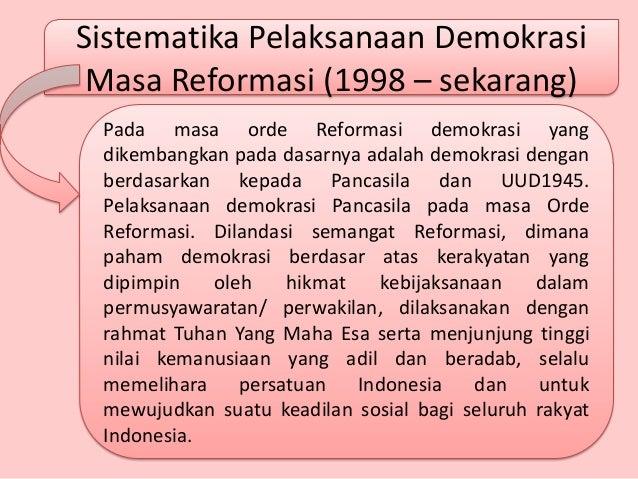 resume demokrasi pancasila pengertian sistem ekonomi macam macam