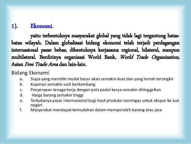 The Impact of Globalization Slide 2