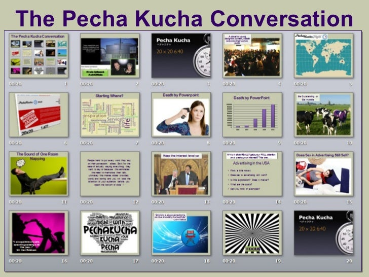 pecha kucha business presentations