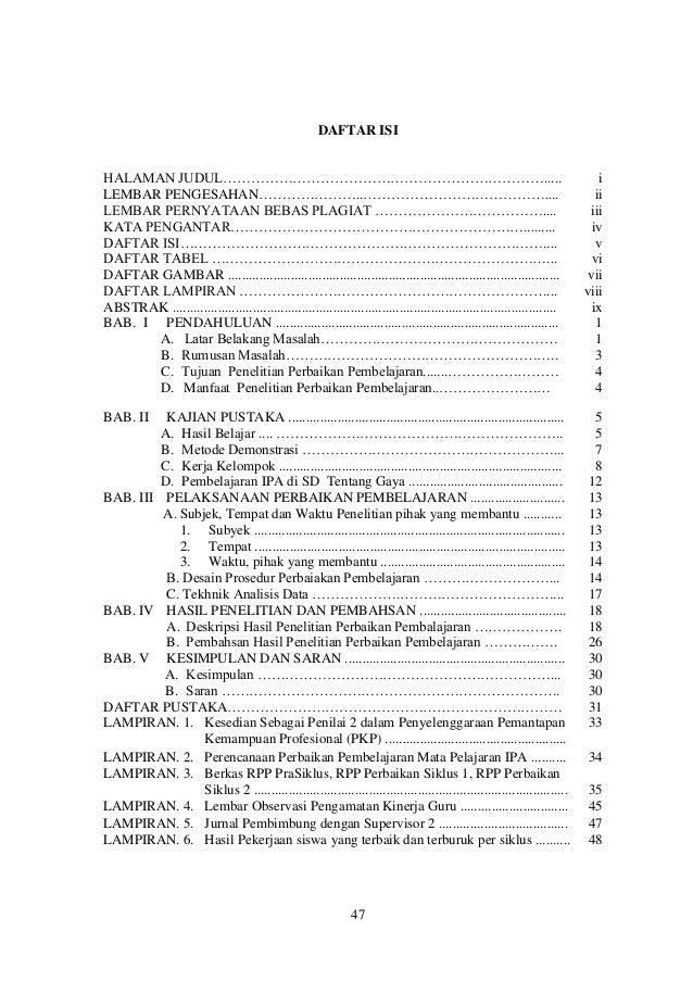 Pkp Meningkatkan Hasil Belajar Siswa Kelas Iv Sd Negeri 17 Sawerigadi