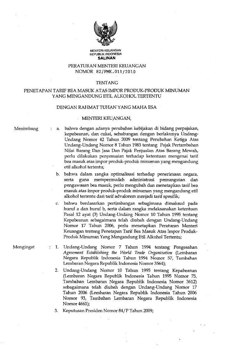 MENTERIKEUANGAN                                 REPUBLIK INDONESIA                                     SALINAN            ...
