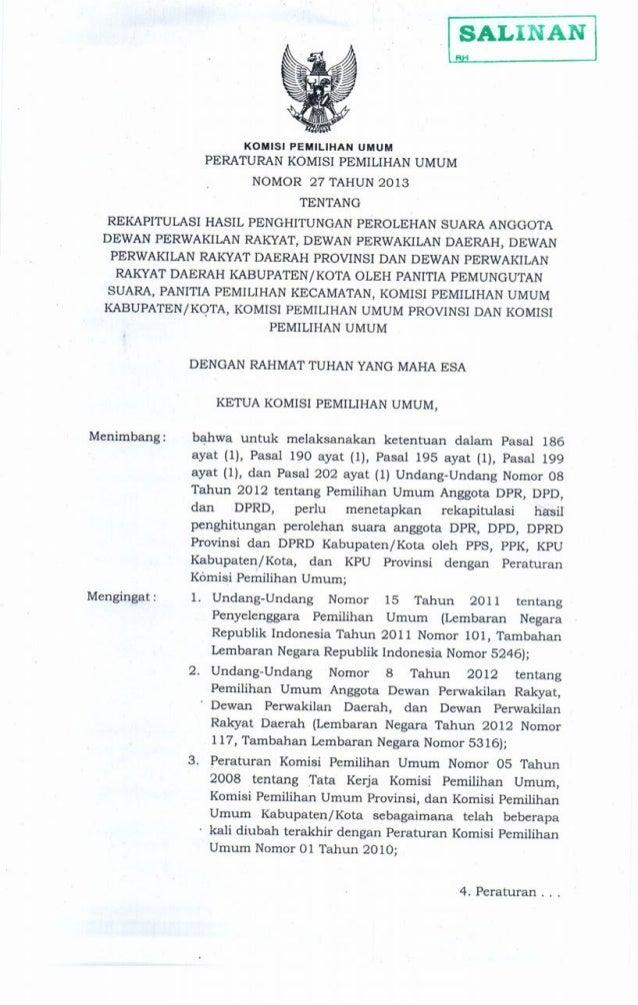 -24. Peraturan Komisi Pemilihan Umum Nomor 06 Tahun 2008 tentang Susunan Organisasi dan Tata Kerja Sekretariat Jenderal Ko...