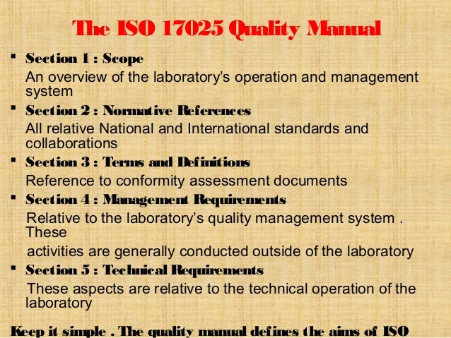 iso 17025 quality manual template free pdf - iso 17025 quality manual template free pdf free quality