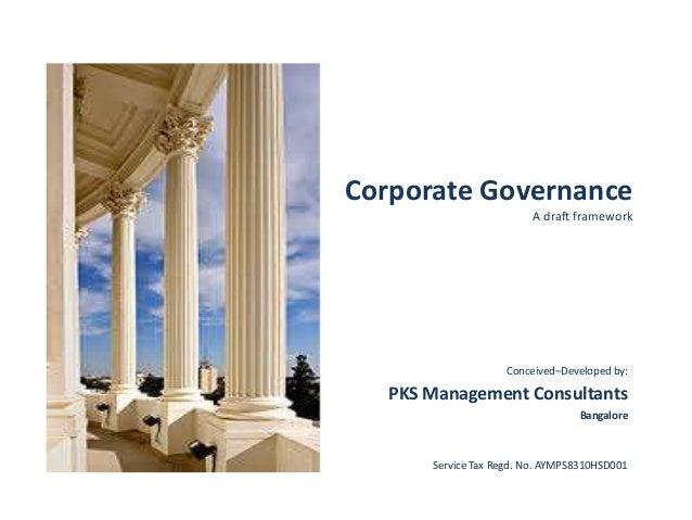 pks corporate governance framework