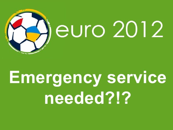 Emergency service needed?!?