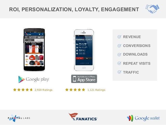Google Wallet: The Fanatics Experience