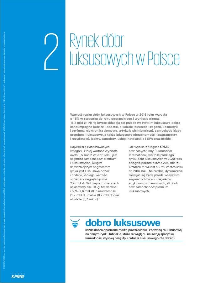 058e90025ea2 16. 2 Rynekdóbr luksusowychwPolsce Wartość rynku dóbr luksusowych w Polsce  ...