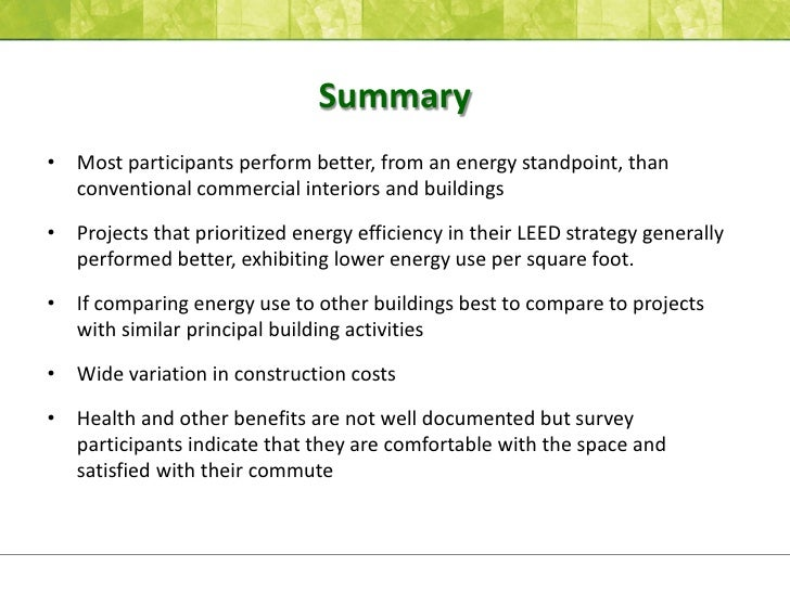 Analyzing Post Occupancy Performance: A Replicable Model for