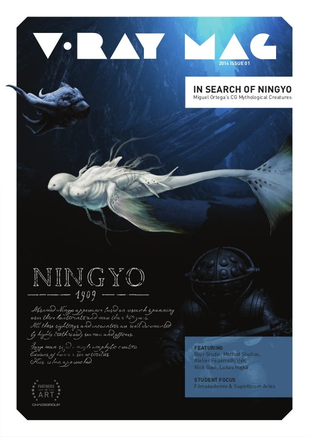 In Search of Ningyo Miguel Ortega's CG Mythological Creatures featuring Blur Studio, Method Studios, Atelier Feuerroth, IN...