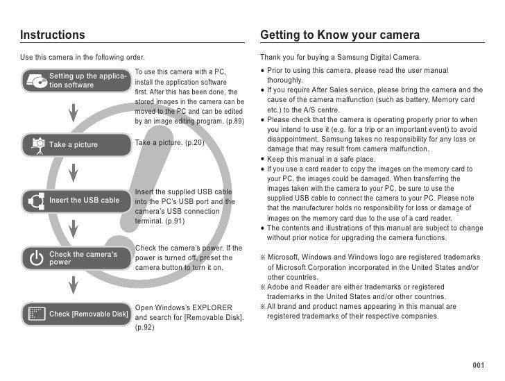 samsung camera pl50 user manual rh slideshare net samsung camera manual pdf samsung camera instruction manuals