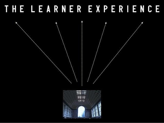 T H E L E A R N E R E X P E R I E N C E  E C A R u n d e r g r a d s & information tech Project Information Literacy @ U o...