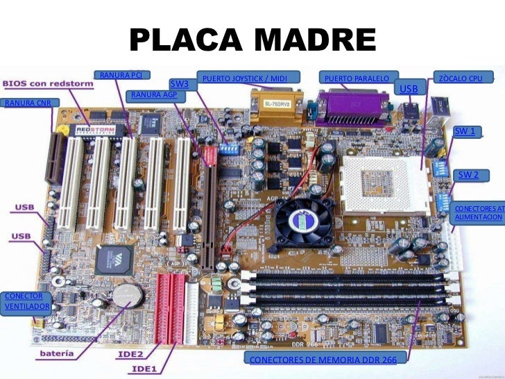 Placa Madre Jaime Galofre 8 B