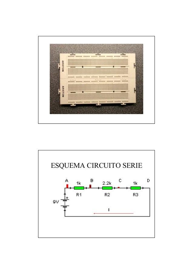 ESQUEMA CIRCUITO SERIE I