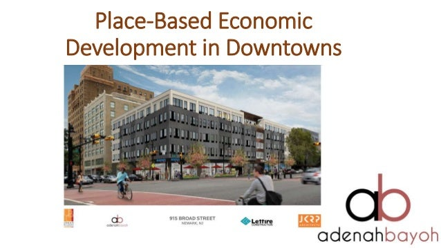 Place-Based Economic Development in Downtowns