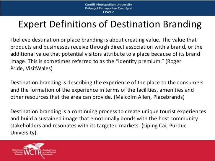 Introduction to Destination Brands