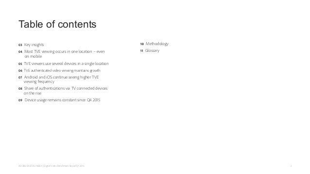 Adobe Digital Index Q1 2016 Digital Video Benchmark Report Slide 2