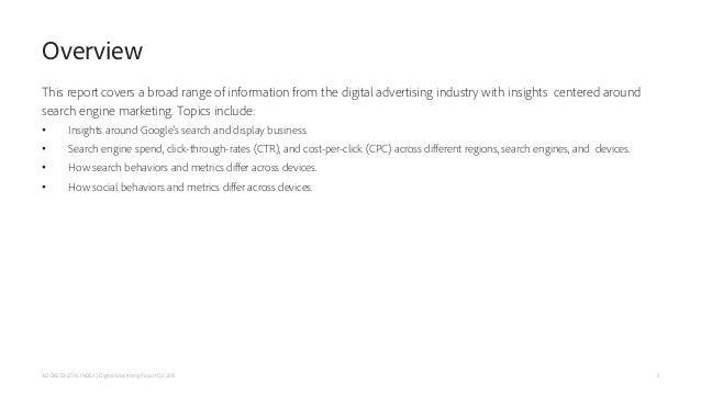 Adobe Digital Index's Q3 Digital Advertising & Social Intelligence Report Slide 3