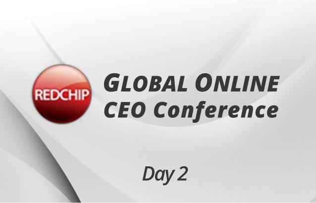 Day2 GLOBALONLINE CEOConference