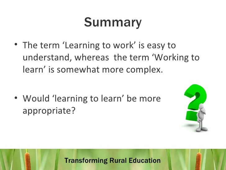 placement on work based learning Work based training and practical placement (wbt/pp) opportunities are an important component of employee engagement and skills development in a variety of vet and vcal learning and teaching environments.