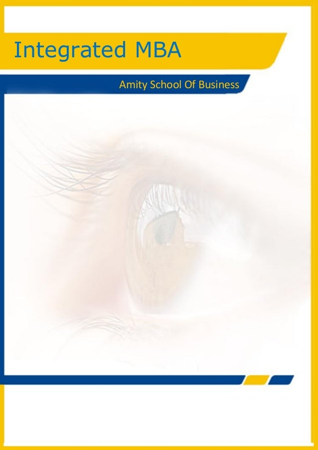 0 Integrated MBA (BBA+ MBA)Integrated MBAAmity School Of Business