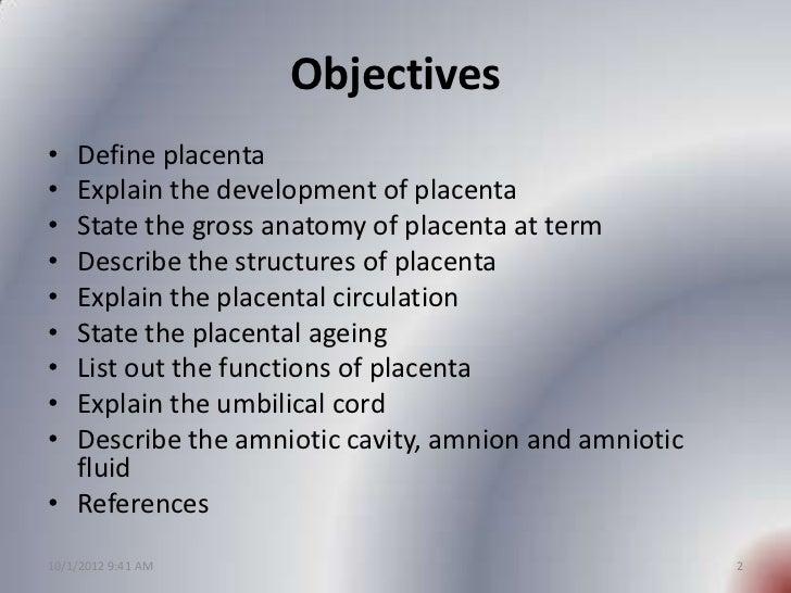 Placenta development