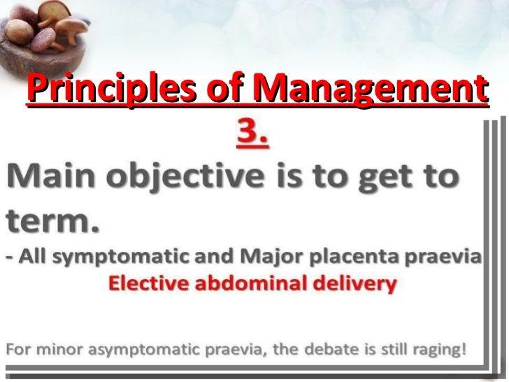 Placenta praevia: A brief overview