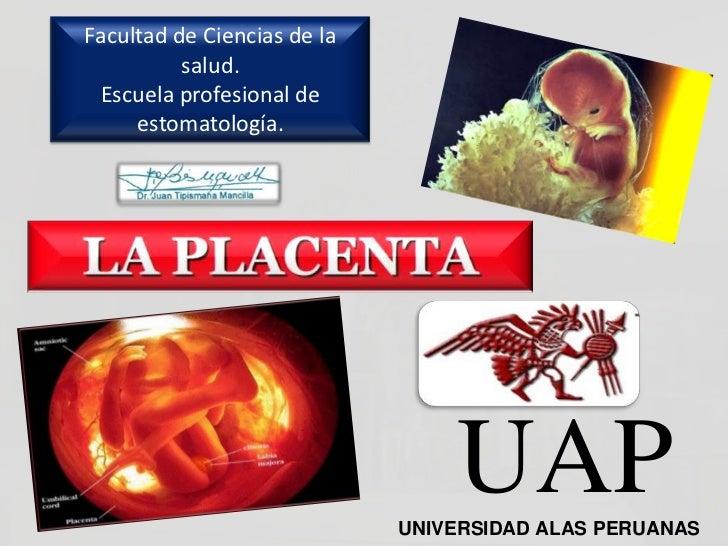 Facultad de Ciencias de la          salud. Escuela profesional de     estomatología.                                 UAP  ...