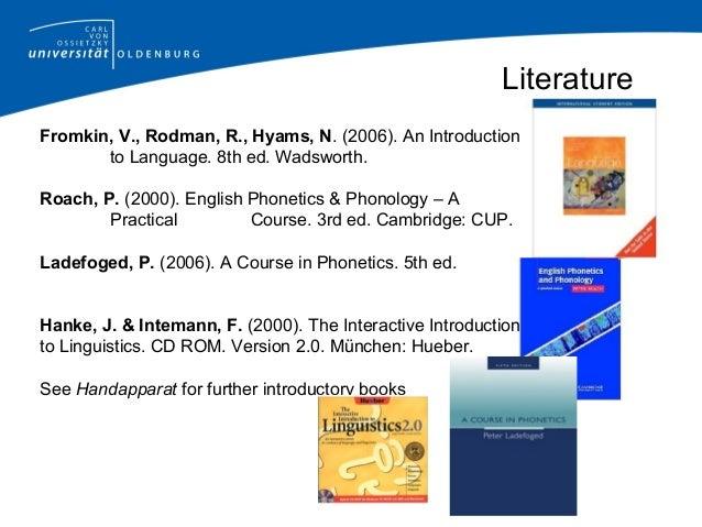 cd english phonetics and phonology