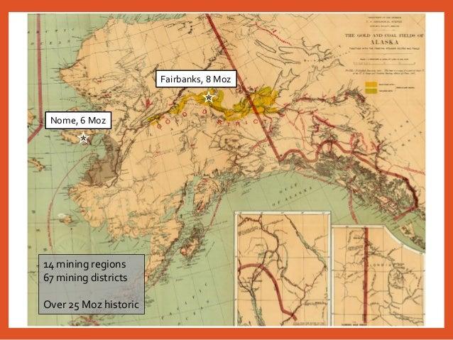 Placer Gold Mining In Alaska