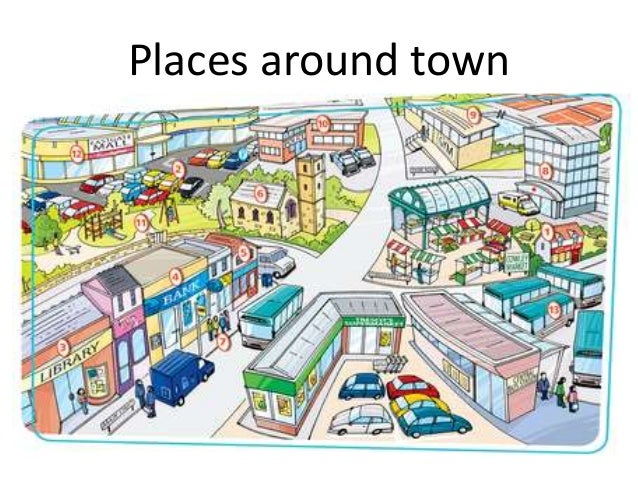 Image result for places in town