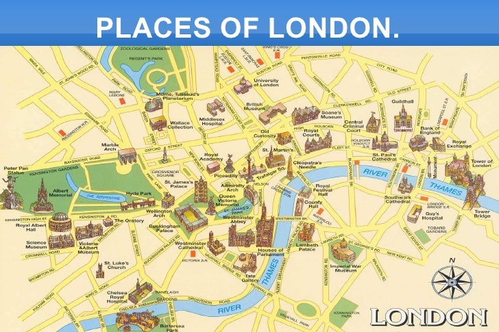 PLACES OF LONDON.