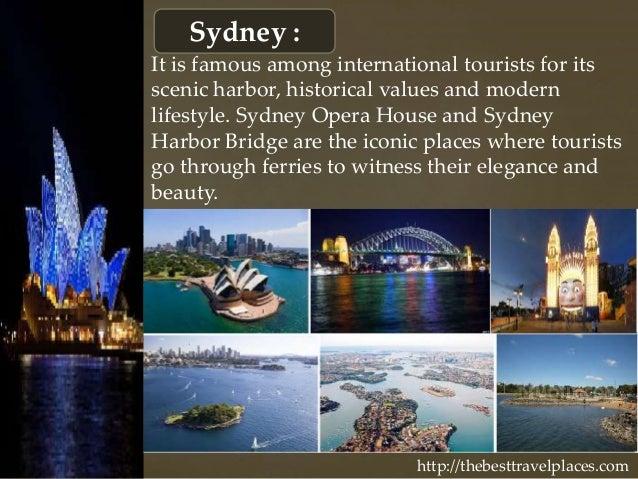 An overview of sydney australia a top tourist destination