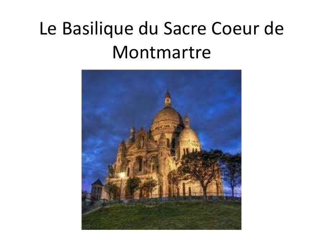 Le Basilique du Sacre Coeur de Montmartre