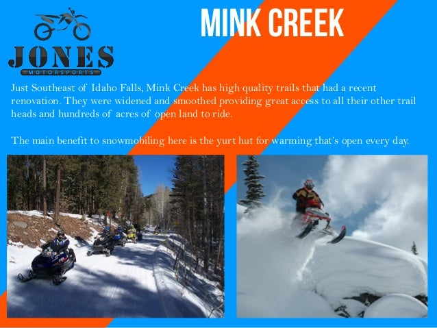 4. Mink Creek Just Southeast of Idaho Falls ...