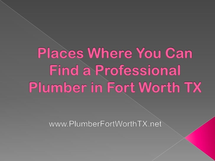 There are a lot of people who are having problemswhen it comes to finding a plumber that they canhire, which should not be...