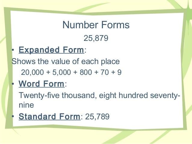 Place Value Info