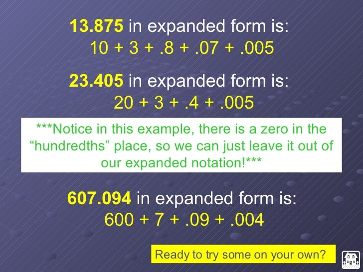 expanded form 4 408 730  Place Value Review