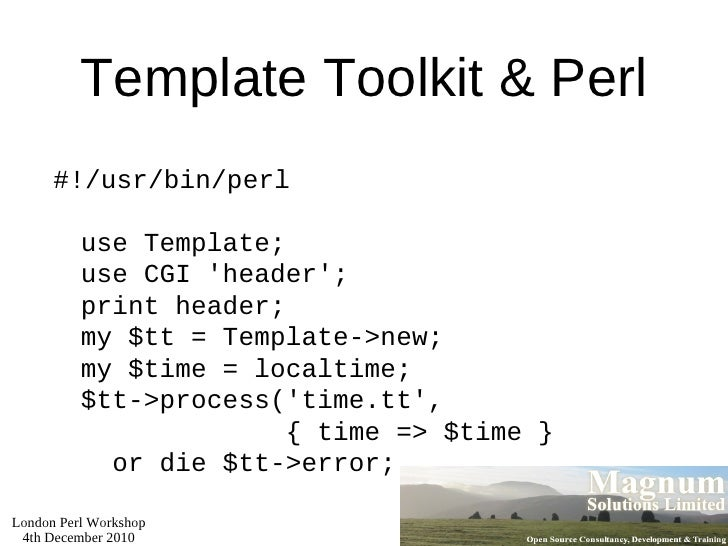 Modern Web Development with Perl