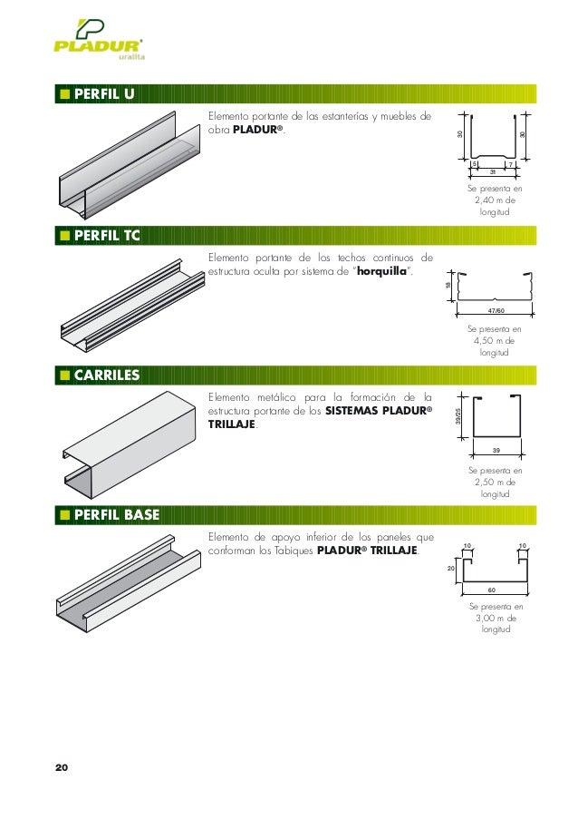 Pladur katalogoa for Placas de pladur para techos