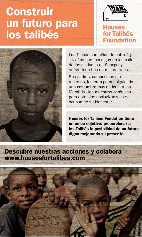 Construirun futuro para                         Houseslos talibés                            for Talibés                  ...