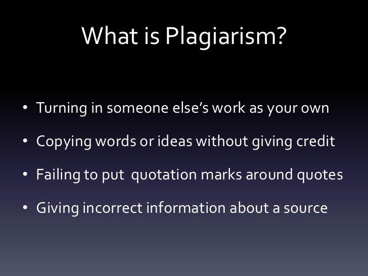 plagiarism and its effect on academic By scott ragin in the academic world, plagiarism is considered as a serious offense because stealing the work of another writer is an unacceptable tactic.