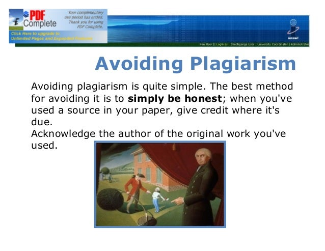 plagiarism and original author 2016-6-4 what is plagiarism  write a modified article in your own words with something left out and/or something added and you need not give the original author.